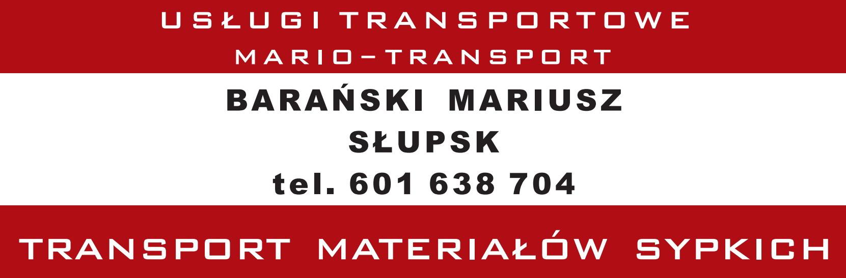 Usługi Transportowe – Barański Mariusz